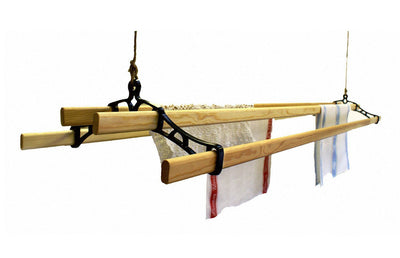 Victorian Ceiling Airer - Ceiling Clothes Airer - Kitchen Maid - Lifestyle Clotheslines - 1