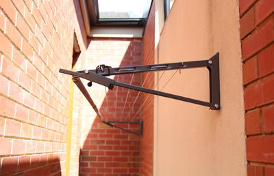 Austral Slenderline 20 Clothesline - Wall Mounted Installed