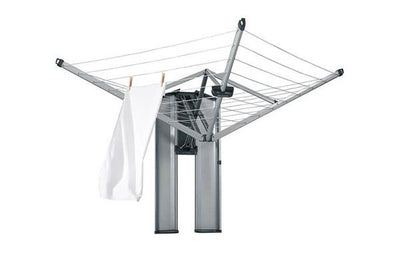Brabantia Wallfix Foldaway Clothesline with Storage Box