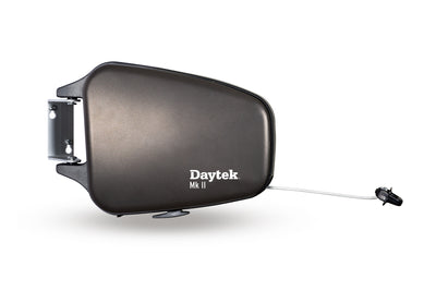 Daytek Flexi Dry Single Retract Clothesline - Black