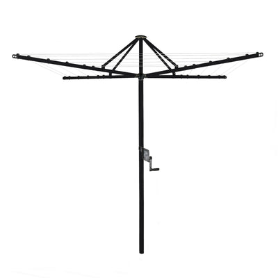 Daytek M32 Rotary Clothesline - Anthracite Black Colour