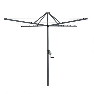 Daytek M32 Rotary Clothesline - Iron Grey Colour
