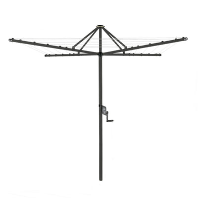Daytek M32 Rotary Clothesline - Timber Grey Colour