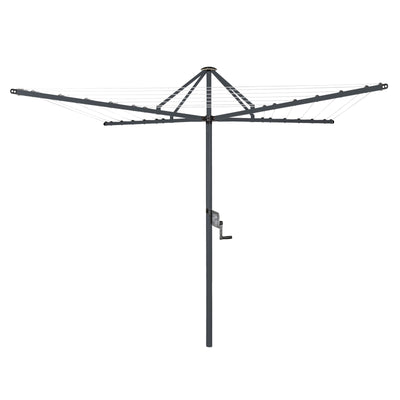 Daytek M42 Rotary Clothesline - Iron Grey Colour