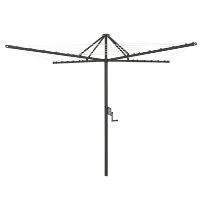 Daytek M42 Rotary Clothesline - Timber Grey Colour