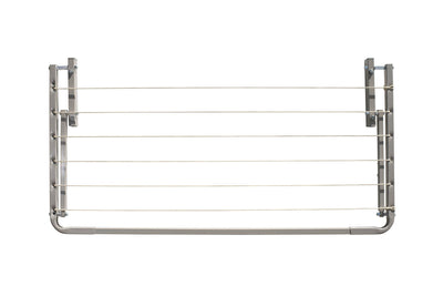 Eco 120 Clothesline - Surfmist Front Side Folded Down