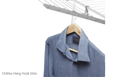 Hills Two Wing Expanding Clothes Airer