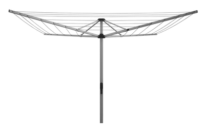 Sunbreeze Rotary Folding 51 Clothesline - Dove Grey