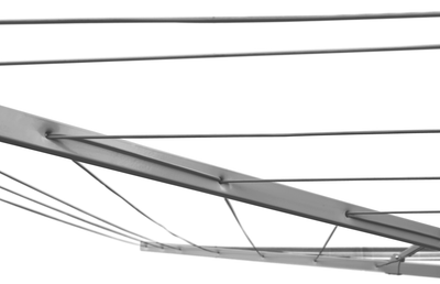 Sunbreeze Rotary Folding 51 Clothesline - Corded Arms