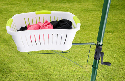 Clothesline Basket Holder - Heritage Green With Basket