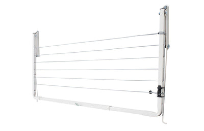 Austral Indoor Outdoor Clothesline - Right Perspective Folded Down