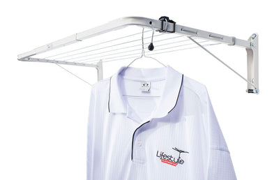 Austral Indoor Outdoor Clothesline - With Hanging Shirt