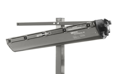 Austral Retractaway 40 Clothesline - Mounted on a post