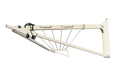 Austral Slenderline 20 Clothesline - Classic Cream Right Side View