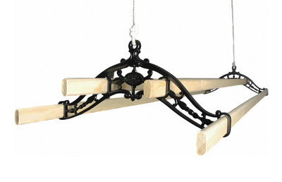 Classic Ceiling Airer - Black