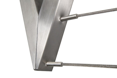 Evolution 316 Stainless Steel Clothesline - 4 Line Stainless Steel Close Up String