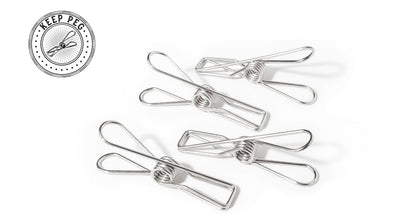 Keep Peg 201 Stainless Steel Clothes Pegs