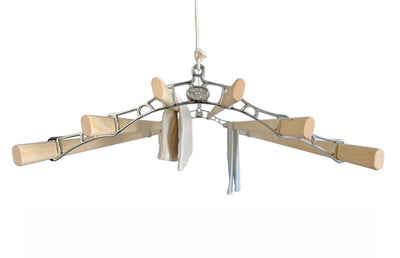 Six Lath Supreme Ceiling Airer - Ceiling Clothes Airer - Kitchen Maid - Lifestyle Clotheslines - 4