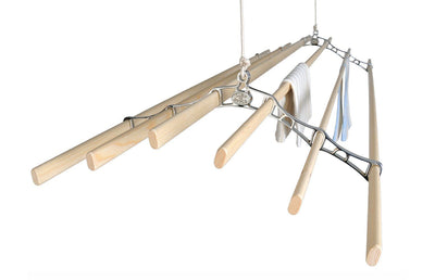 Six Lath Supreme Ceiling Airer - Ceiling Clothes Airer - Kitchen Maid - Lifestyle Clotheslines - 3