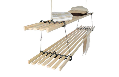 Stacker Gismo Clothes Airer - Ceiling Clothes Airer - Kitchen Maid - Lifestyle Clotheslines