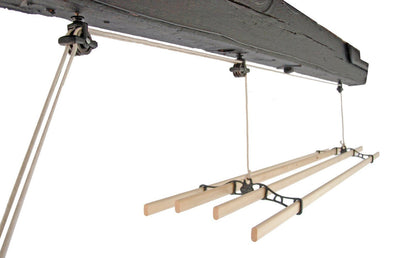 Traditional Ceiling Airer - Ceiling Clothes Airer - Kitchen Maid - Lifestyle Clotheslines - 4