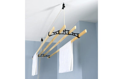 Traditional Ceiling Airer - Ceiling Clothes Airer - Kitchen Maid - Lifestyle Clotheslines - 5