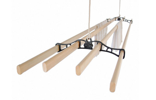 Traditional Ceiling Airer - Ceiling Clothes Airer - Kitchen Maid - Lifestyle Clotheslines - 1