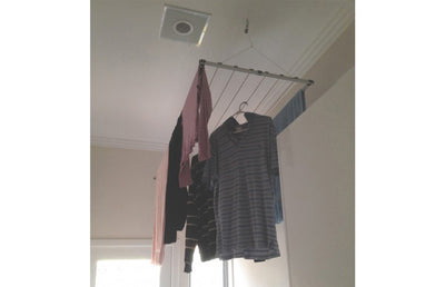 Versaline Up & Away Ceiling Airer - Ceiling Clothes Airer - Versaline - Lifestyle Clotheslines - 2