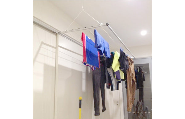 Versaline Up & Away Ceiling Airer - Ceiling Clothes Airer - Versaline - Lifestyle Clotheslines - 1