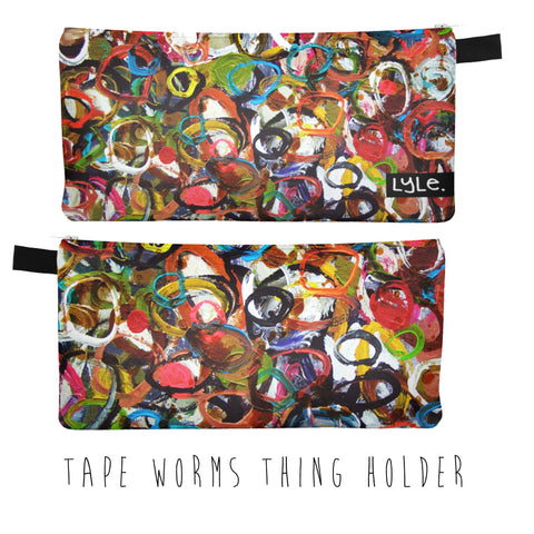 THING HOLDER - TAPE WORMS