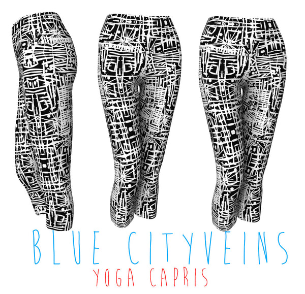 YOGA CAPRIS - BLUE CITY VEINS
