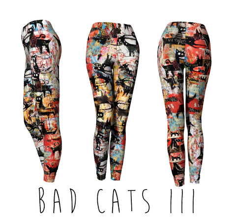 CLASSIC LEGGINGS : BAD CATS