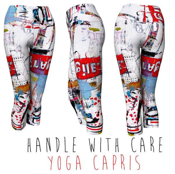 YOGA CAPRIS - HANDLE WITH CARE