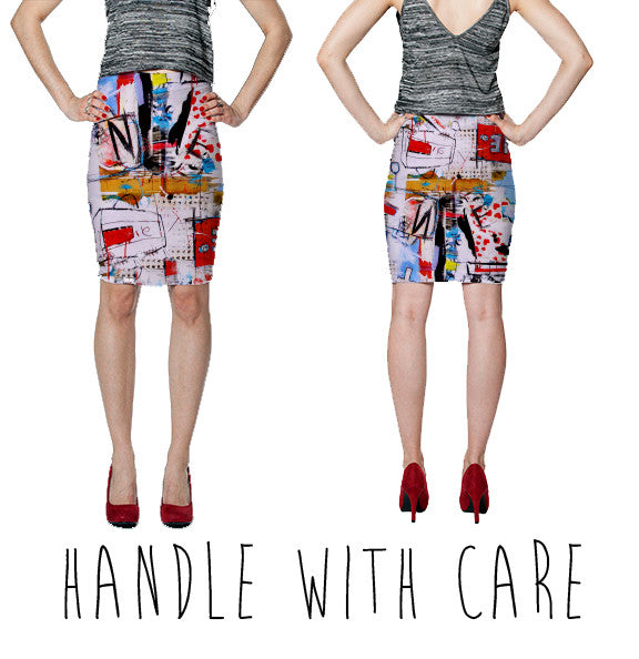 PENCIL SKIRT - HANDLE WITH CARE