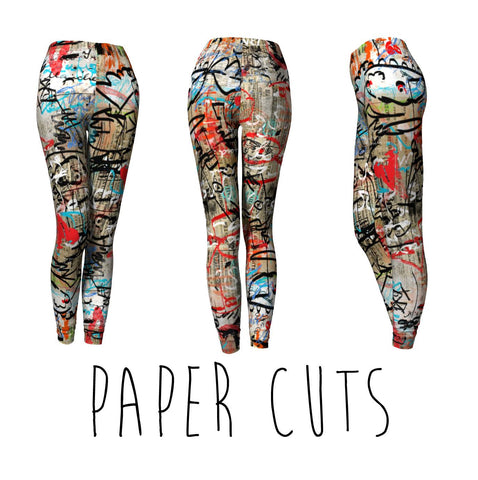CLASSIC LEGGINGS : PAPER CUTS