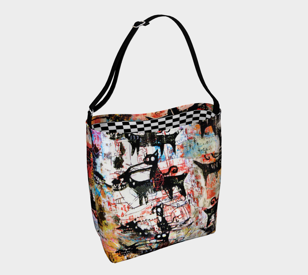 BAD CATS TOTE BAG