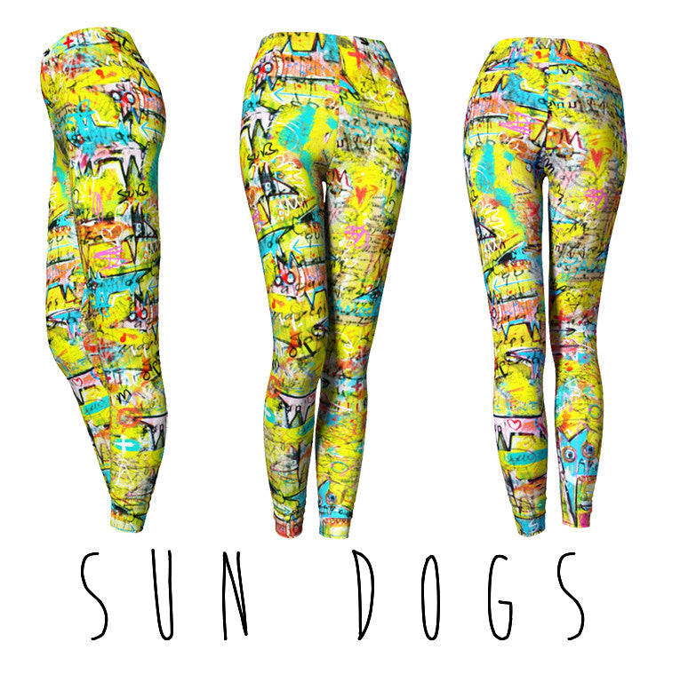 CLASSIC LEGGINGS - SUN DOGS