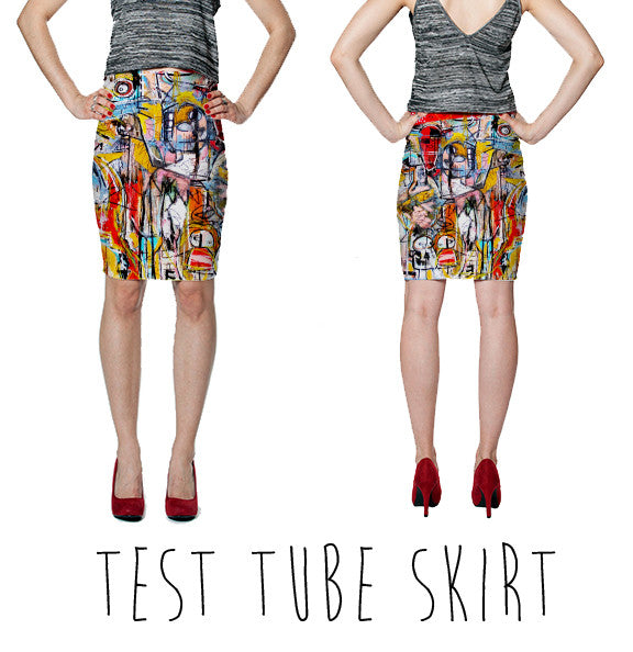 PENCIL SKIRT- TEST TUBE SKIRT