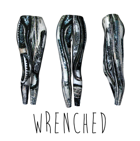 CLASSIC LEGGINGS - WRENCHED