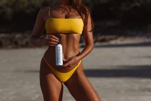 Photoskin Illuminating Body Gloss - natural and organic ingredients - photoshoot beach shoot swimwear shoot