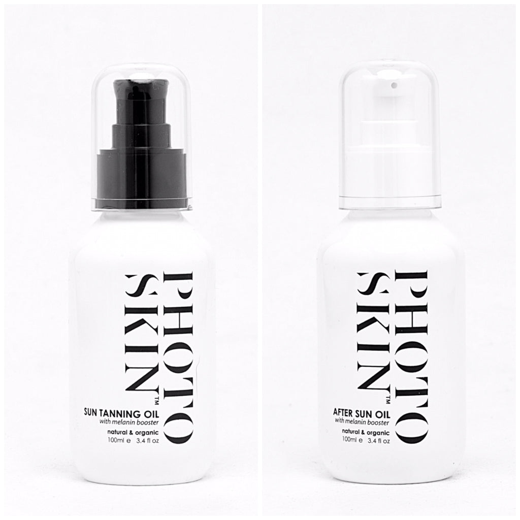 Twin Pack - Photoskin - natural and organic body skin oil products