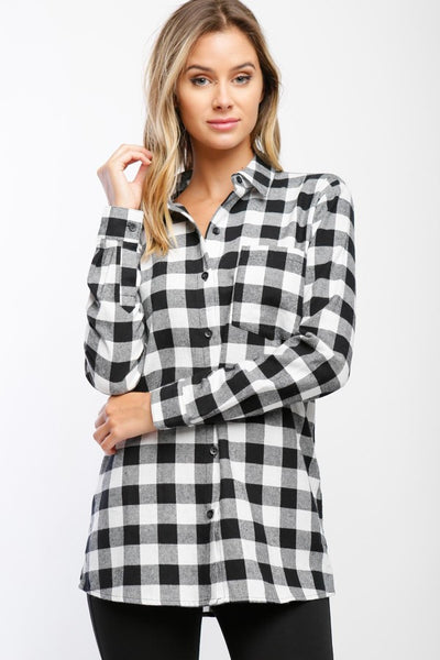 Nashville Flannel Button-Down
