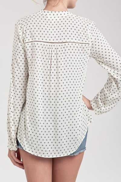 The Chloe Printed Blouse