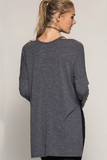 Fireside Cut-Out Long Sleeve