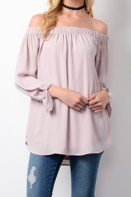 Sweetheart Off-The-Shoulder Top