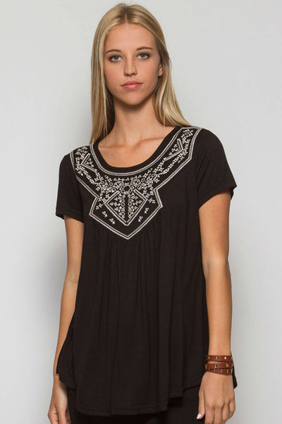 Olivia Embroidered Top