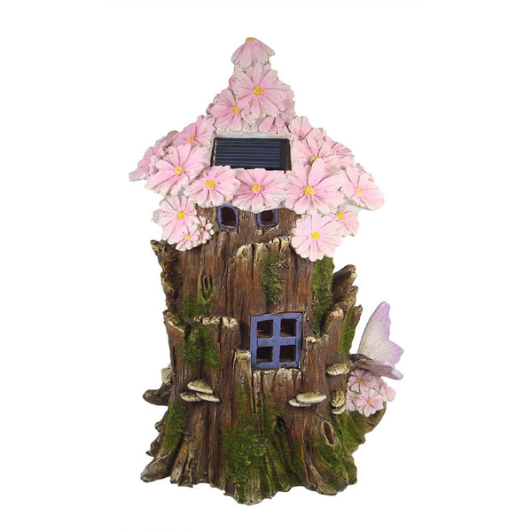 Pink Flower Light up Tree House