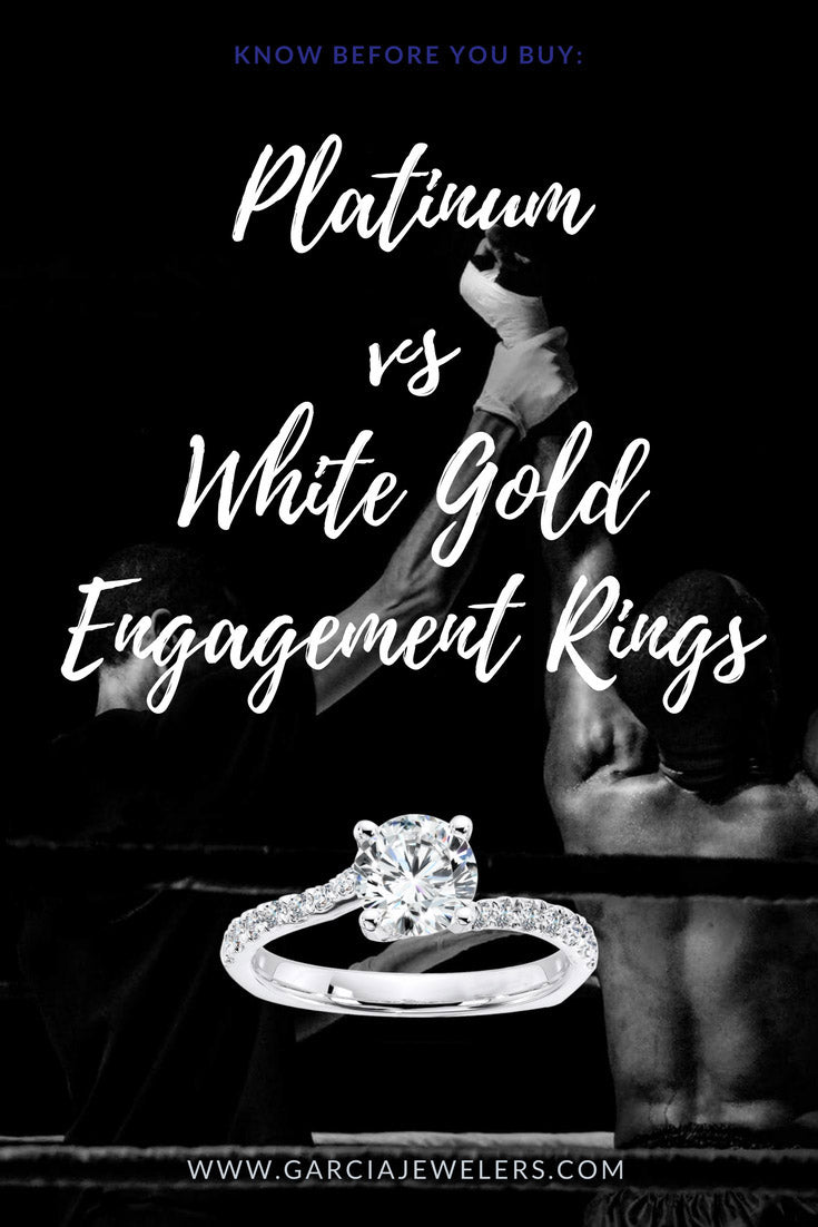 Platinum Engagement Rings vs White Gold Engagement Rings