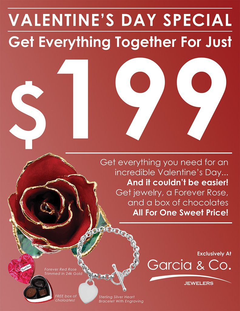 Valentine's Day 2018 | Special Jewelry Offer In Farmington, NM