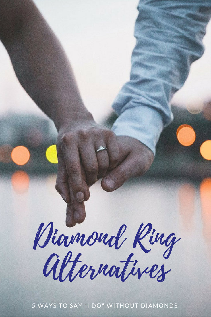 "Diamond Engagement Ring Alternatives: 5 Rings To Say ""I Do"" Without Diamonds"